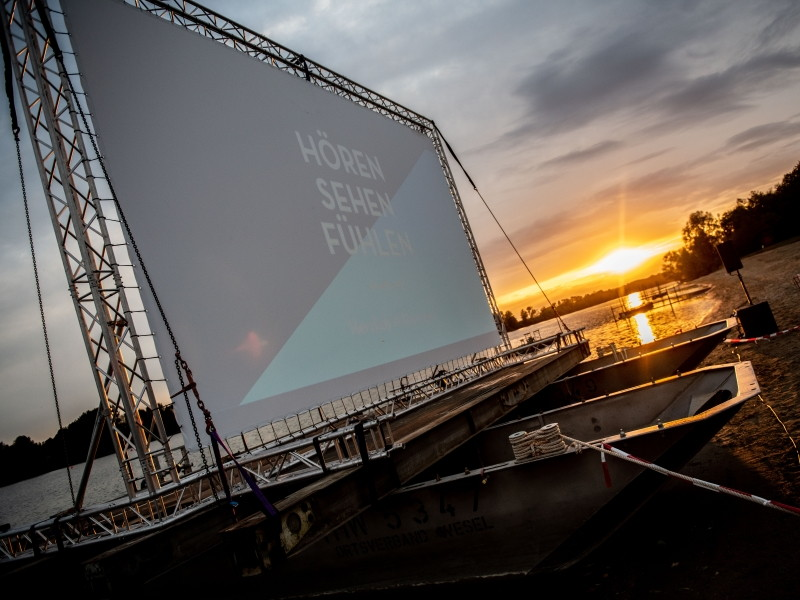 Sommerkino am Auesee; Foto: Flaggschiff Film